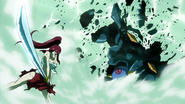Erza defeats the S-Class monster
