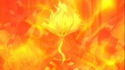 Franmalth absorbe la magia de Natsu