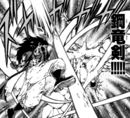 Steel Dragon's Sword