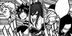 Drużyna Fairy Tail rusza do ataku