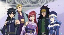 Equipo Fairy Tail 6 día
