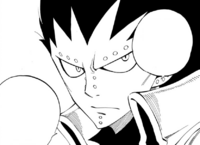 Gajeel's indifference towards Avatar Gray