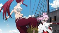 Ikaruga clashes with Erza again