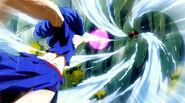 Juvia's Whirlpool attack