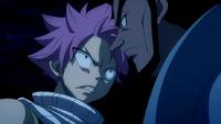 Natsu confronts Arcadios