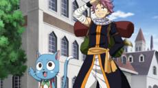 Natsu y Happy vuelven a Magnolia