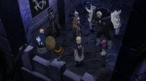 Los miembros de Avatar discutiendo