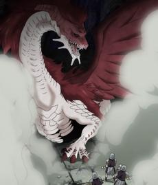 Irene como dragón