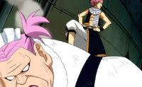 Natsu beats Virgo