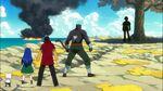 Azuma vs Pantherlily, Wendy y Mest