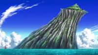 Caracole Island is enlarged