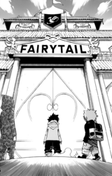 Gray Doronbo y Pause llegan a Fairy Tail