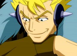 Laxus smile