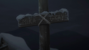 The grave of Mika