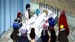 Fairy Tail organizándose para el Torneo