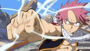 Natsu Dragneel's punch