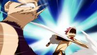 Natsu diz para Jellal calar a boca