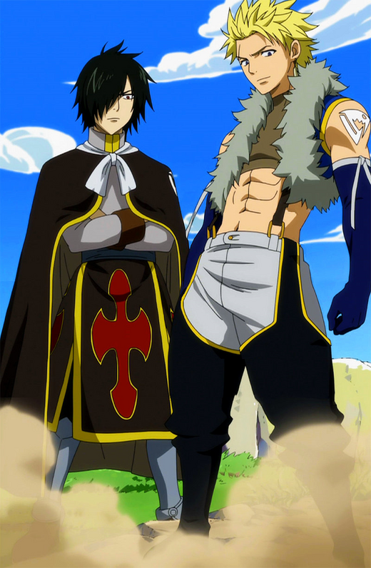 The Twin Dragons in anime