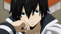 Zeref transported to Fairy Tail