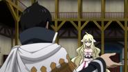 Mavis meets Zeref in the guild