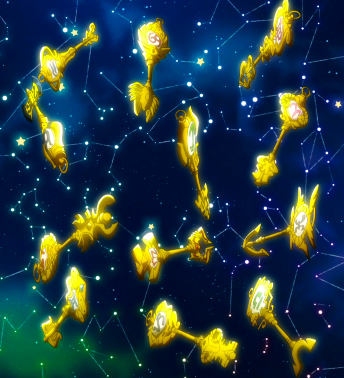 Celestial Spirit Gate Keys