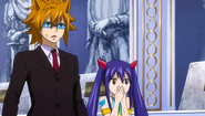 Loke and Wendy watch Future Lucy's demise
