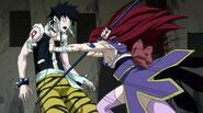 Episode 64 - Erza manages to hit Midnight