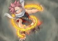 Natsu Flame Fanart