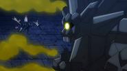 Rock Dragon laughs at Blue Pegasus