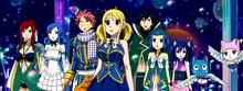 Episodio 153 Lucy y los demás llegan al Mundo Celestial