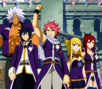 Equipo A de Fairy Tail Anime
