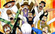 Man's happiness after they saw Lisanna