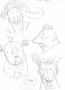 Warrod concept sketches