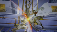 Future Rogue clashes with Natsu