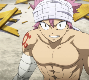 Natsu shocked to see Marin's actions