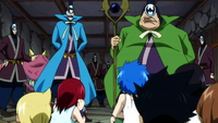 Erza and the others captured