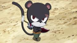 Panther Lily en el equipo B de rescate
