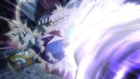 Ichiya defends Fairy Tail with Christina