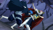 Mystogan vs. Great Demon Lord