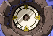 Clock's dial