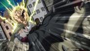 Laxus defeats Historia Hades