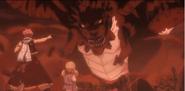 Natsu Lucy vs Dragon