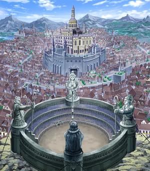 The capital city Crocus
