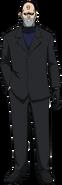 Jacob Lessio's appearance