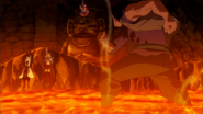 Arcadios moving to save Lucy and Yukino