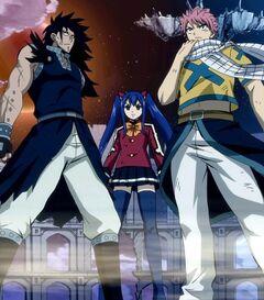 Los tres Dragon Slayer