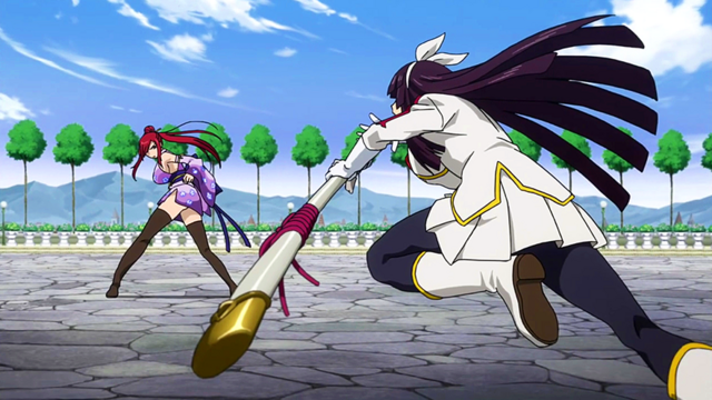 File:Kagura charges towards Erza.png