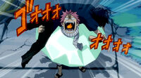 Natsu tells Gray that they both are Fairy Tail mages
