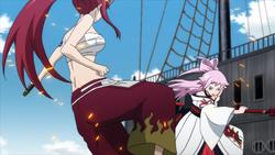 Ikaruga y Erza vuelven a encontrarse