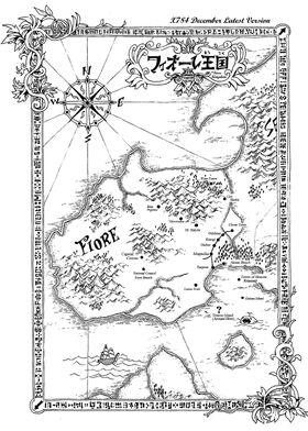 Mapa Fiore